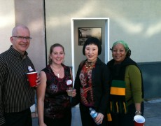 KONO Board Members with Sonja Brooks
